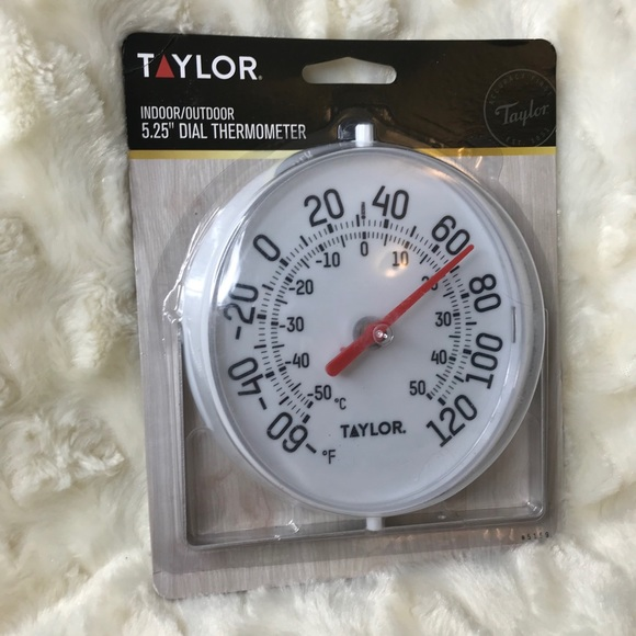 Taylor Thermometer with Mounting Bracket New